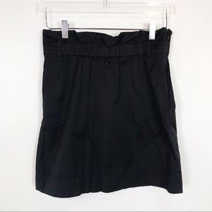 Banana Republic elastic waist nylon city skirt
